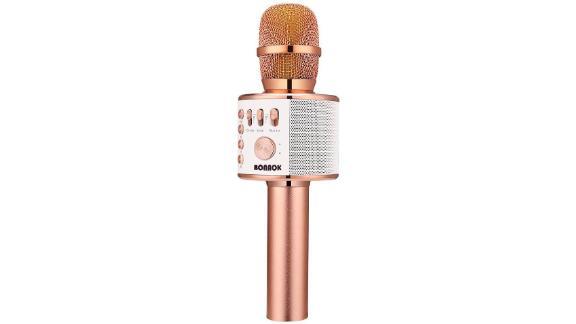 Bonak Wireless Karaoke Microphone ($32.99; amazon.com)
