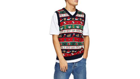 Topman Best Day Ever Holiday Vest ($45; nordstrom.com)
