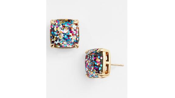 Kate Spade New York Glitter Stud Earrings ($38; nordstrom.com)