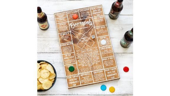 Beeropoly ($35; uncommongoods.com)