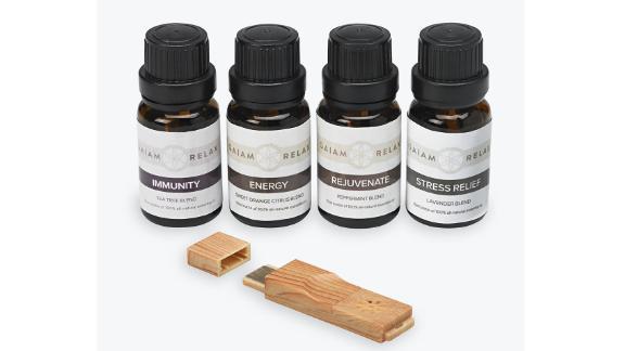 Gaiam Aromatherapy Kit ($24.98; gaiam.com)