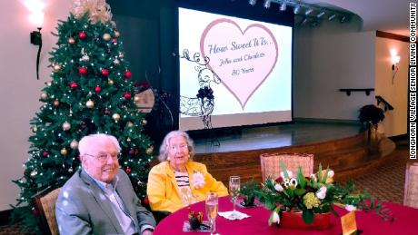 The world's oldest couple — ages 106 and 105 — celebrate their 80th wedding anniversary