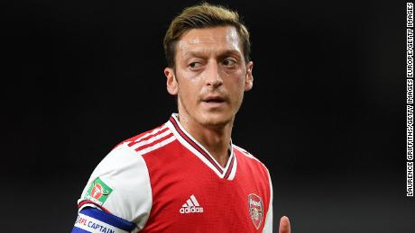 Mesut Ozil has fallen down the pecking order at Arsenal in recent years.
