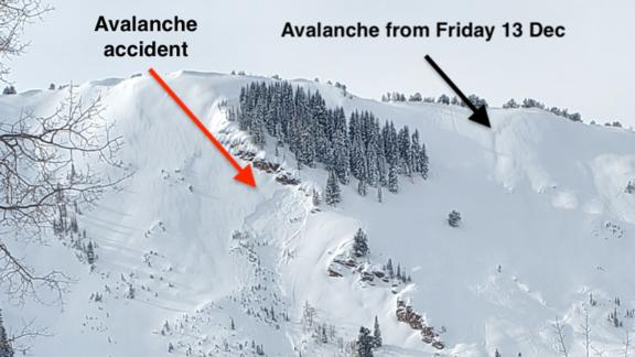 The 45-year-old snowboarder was killed after triggering a backcountry avalanche.