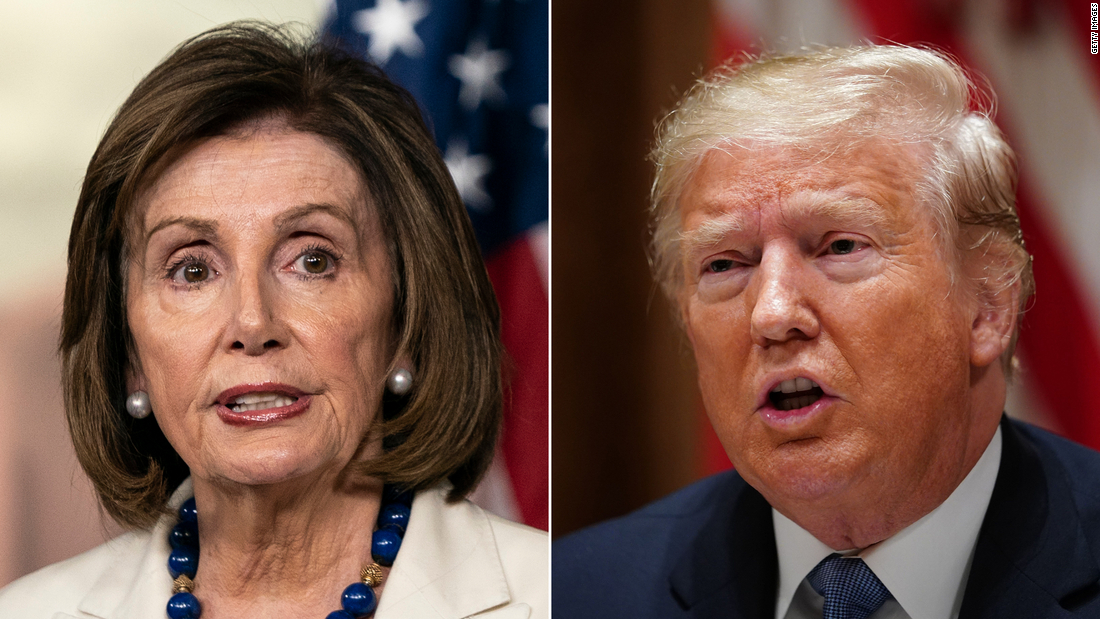 Nancy Pelosi Streitigkeiten Trump Aufrufe, sich zu entspannen coronavirus Maßnahmen zu heilen, Wirtschaft