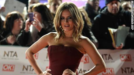 Caroline Flack attends the National Television Awards on January 25, 2017 in London, United Kingdom.