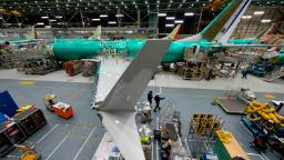 Boeing is building the 737 Max again even though it is not yet approved to fly