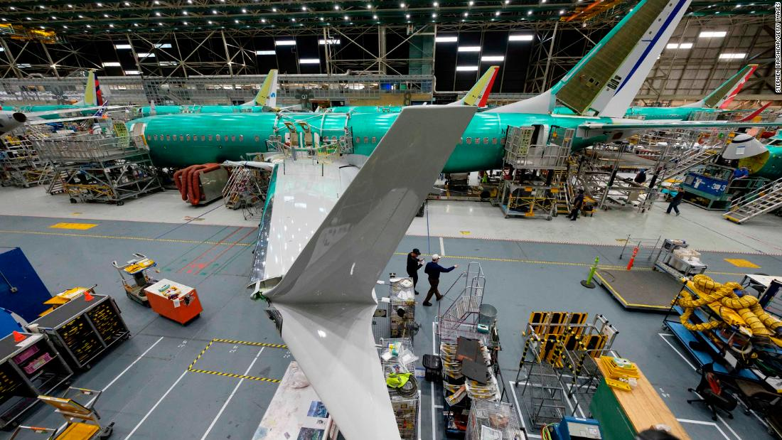 Boeing is building the 737 Max again even though it's not yet approved to fly