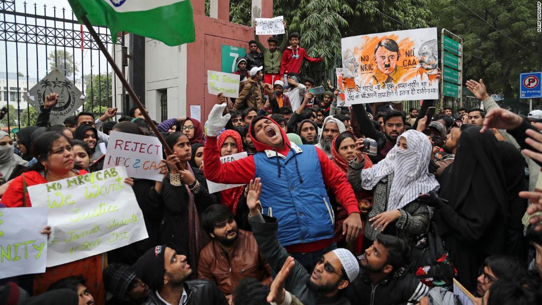Πόλεις της ινδίας αρνηθεί άδειες για πορείες κατά του νόμου για την ιθαγένεια