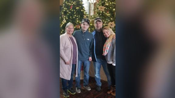 Michael Andrew Hardy (pictured second from left) killed Jeremy Pryor in a 2014 drunk driving accident and was pardoned this year by former Kentucky Gov. Matt Bevin.