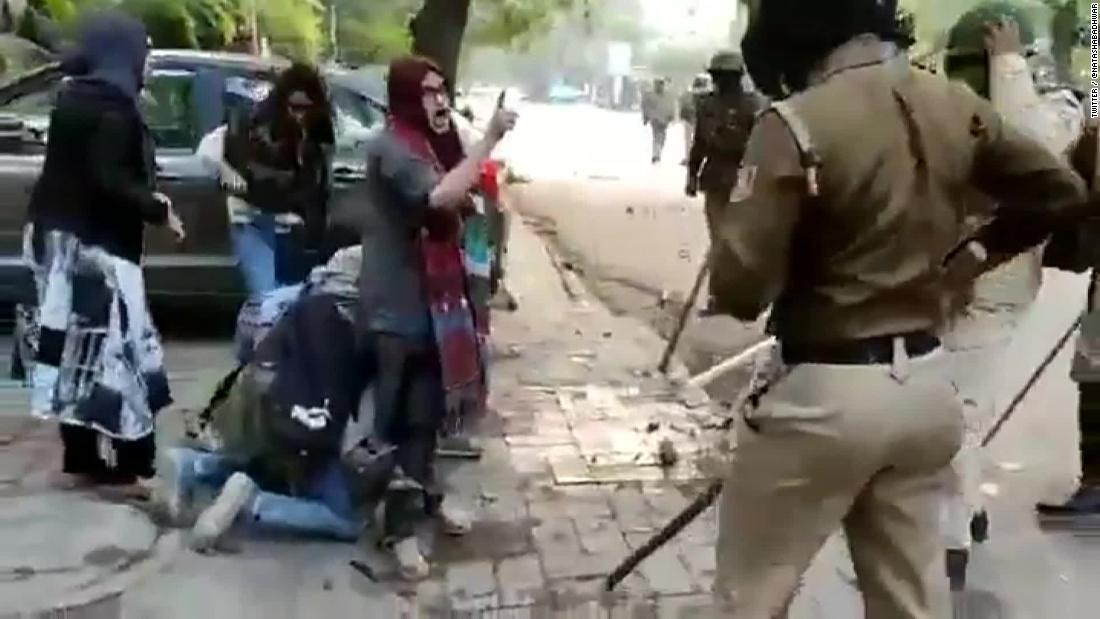 Die Frauen im Zentrum der viral video sagen, dass Indien nicht geteilt werden