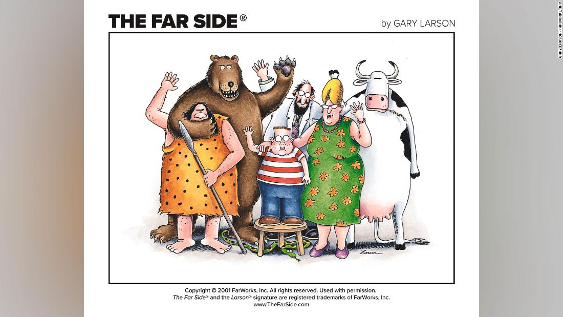 'Far Side' cartoonist publishes first new work in 25 years