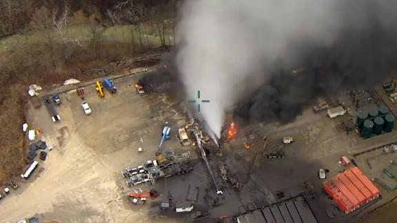 A natural gas blowout in rural Ohio in 2018 released more methane in 20 days than many countries do in a year, a new scientific analysis says.