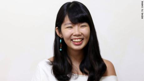 Weng Yu Ching, 24, has been campaigning for LGBT rights in Taiwan since she was a teenager.