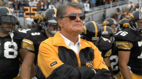 Legendary Iowa football coach Hayden Fry has died at 90