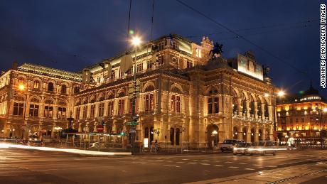 The Vienna State Opera house, pictured here in 2007.