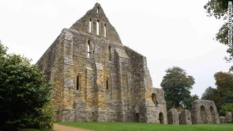 The ruins of Battle Abbey, the widely accepted location of the Battle of Hastings in 1066.