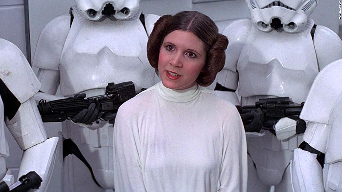 Remember when Princess Leia wore this hairstyle?