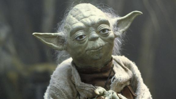 Jedi Master Yoda is just one of many intriguing creatures we encounter in the Star Wars universe. He was purposefully designed with brow ridges and Albert Einstein-esque eyes to indicate his immense wisdom and knowledge.