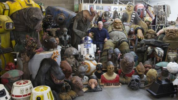 """Neal Scanlan and his creations for """"The Force Awakens."""""""
