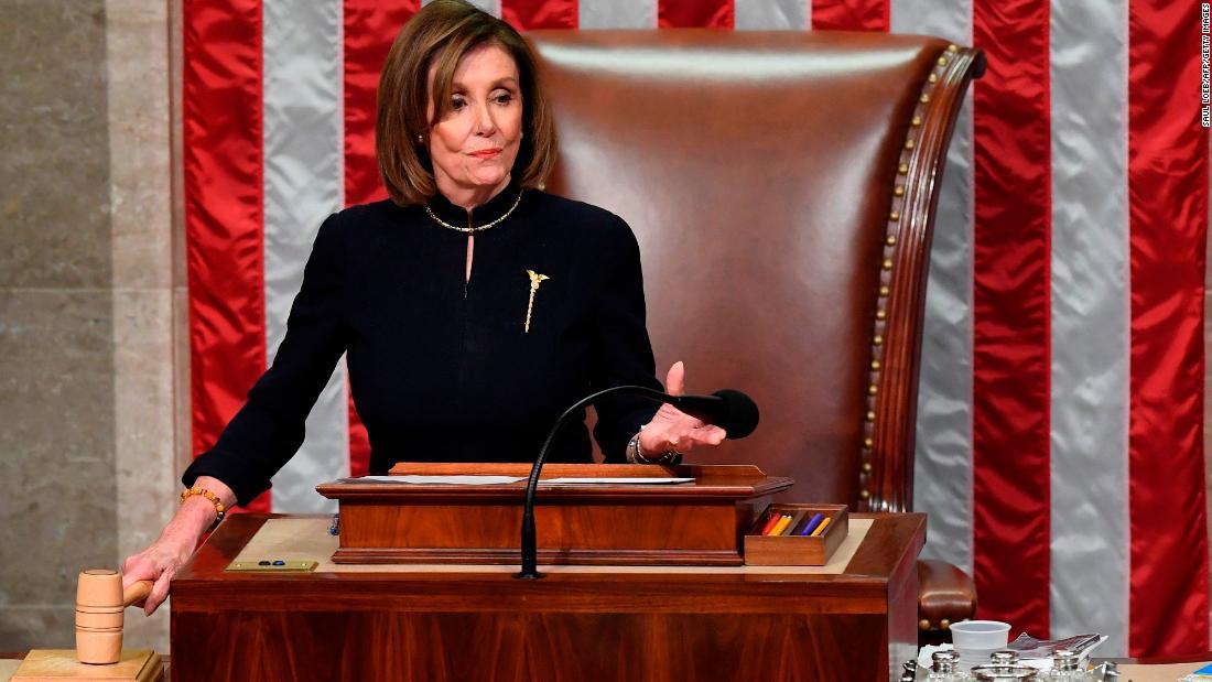 次に移動:Pelosiを拒否するコミットを送信品impeachmentに上院