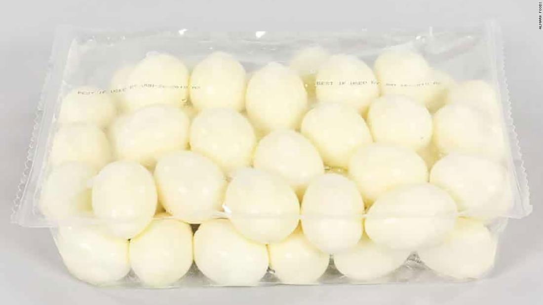 Ένα βρασμένο αυγό θυμάμαι να επεκτείνεται και σε προϊόντα που πωλούνται σε wal-mart και Trader Joe