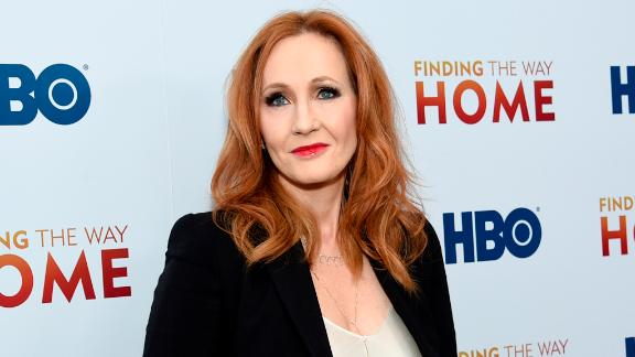 """J.K. Rowling attends the premiere of """"Finding the Way Home"""" in New York on December 11, 2019."""