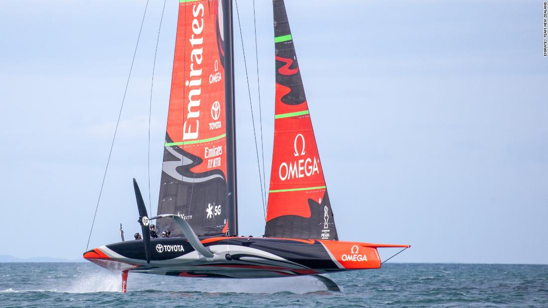 America's Cup: Revolutionary 'flying' yachts take Auld Mug into new realm