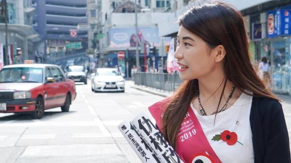 Jocelyn Chau was elected district councilor of Garden City, North Point, in Hong Kong in November 2019.