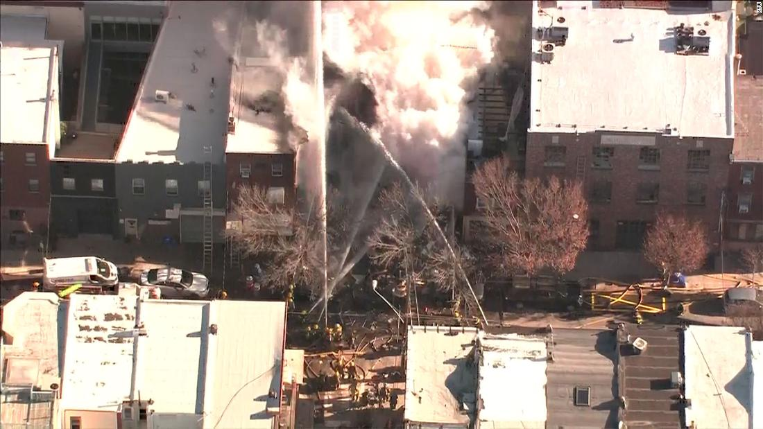 2 bodies recovered from Philadelphia row house fire thumbnail