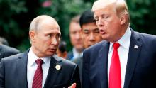 Putin uses coronavirus chaos to work directly on Trump