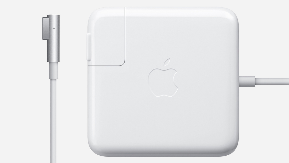 The MagSafe cable used a magnetic connection to charge laptops, rather than plugging into a traditional port.