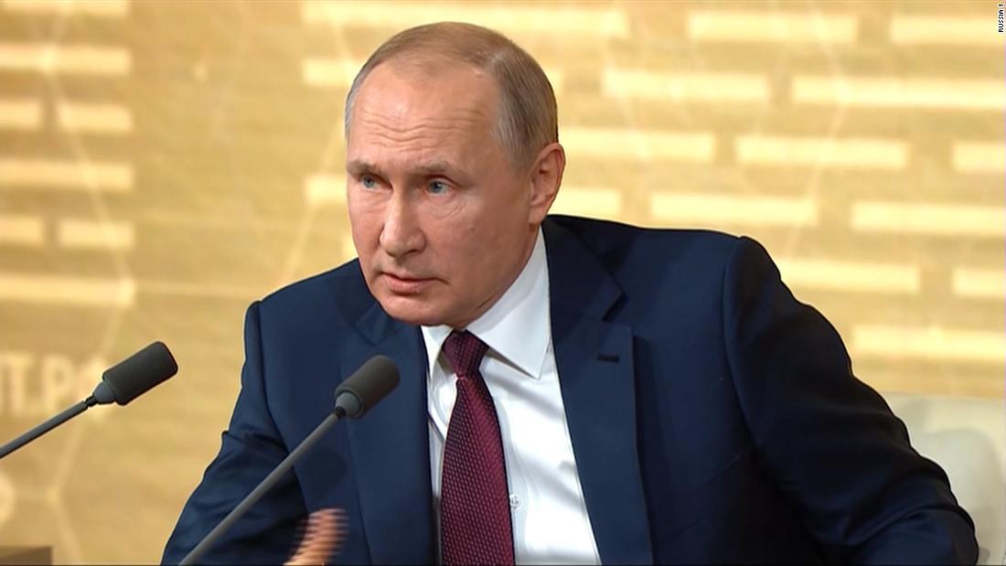 参照をプーチン大統領の反応における卓impeachment
