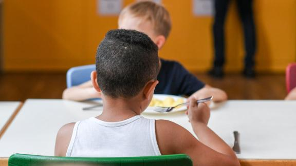 School lunches are a a reliable source for food for homeless students.