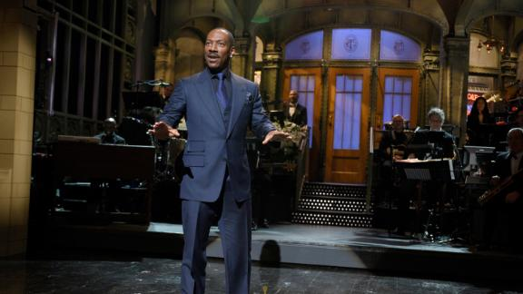 SATURDAY NIGHT LIVE 40TH ANNIVERSARY SPECIAL -- Pictured: Eddie Murphy on February 15, 2015 -- (Photo by: Dana Edelson/NBCU Photo Bank/NBCUniversal via Getty Images via Getty Images)