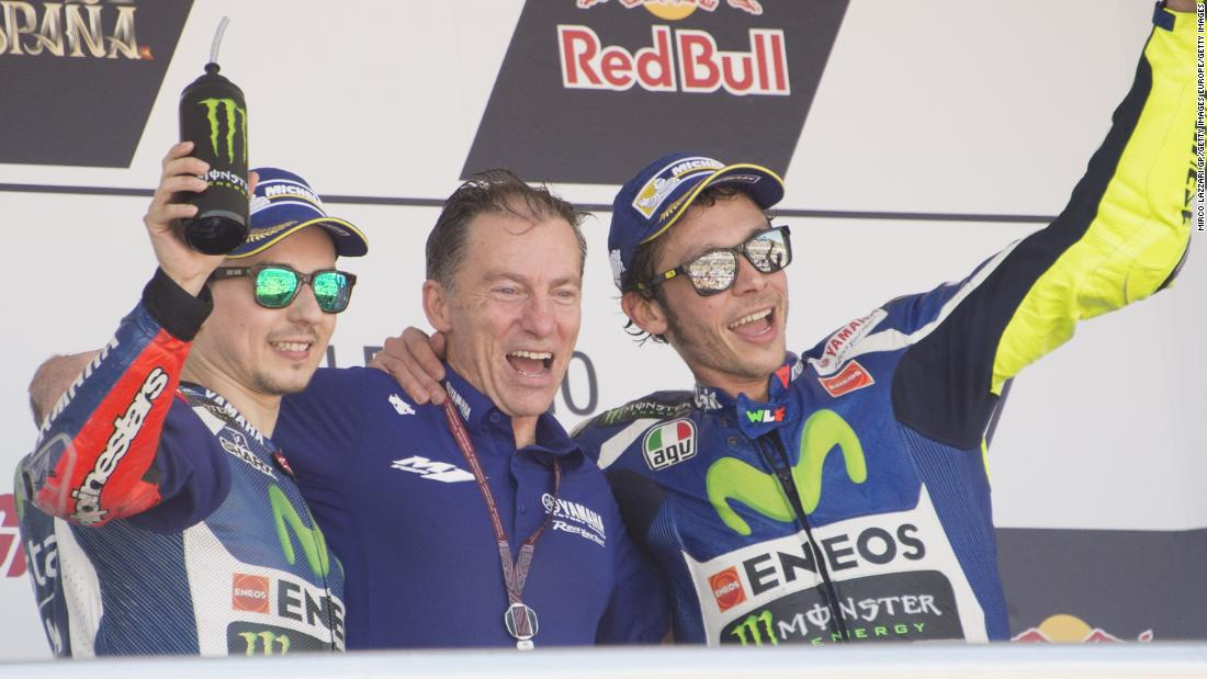 Yamaha's steely supremo Lin Jarvis eyes return to MotoGP glory
