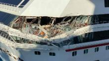 Two Carnival cruise ships collided on Friday.