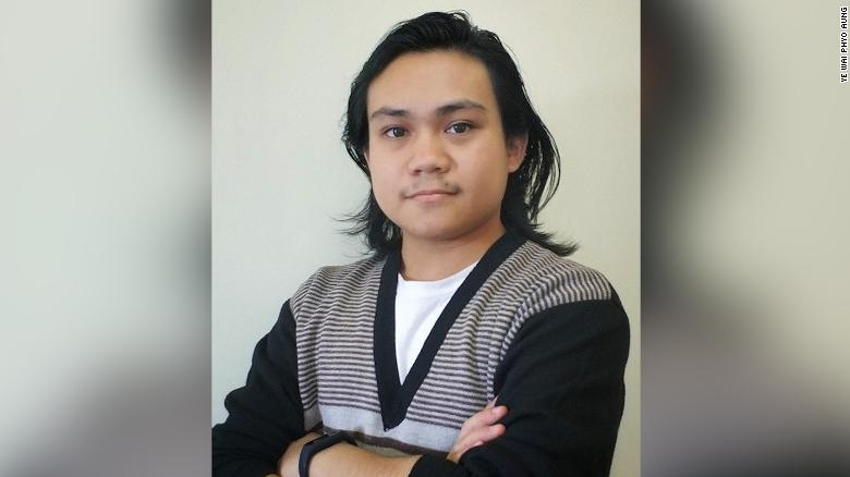 Ye Wai Phyo Aung is one of the cofounders of Athan, an advocacy organization in Myanmar.