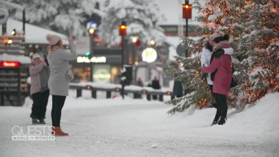 Santa reindeer Rovaniemi Finland QWOW_00063928.jpg