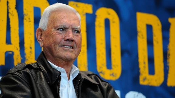 Junior Johnson attends a 2014 event in Charlotte, North Carolina.