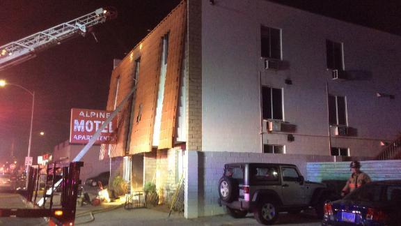 Residents told investigators the building didn