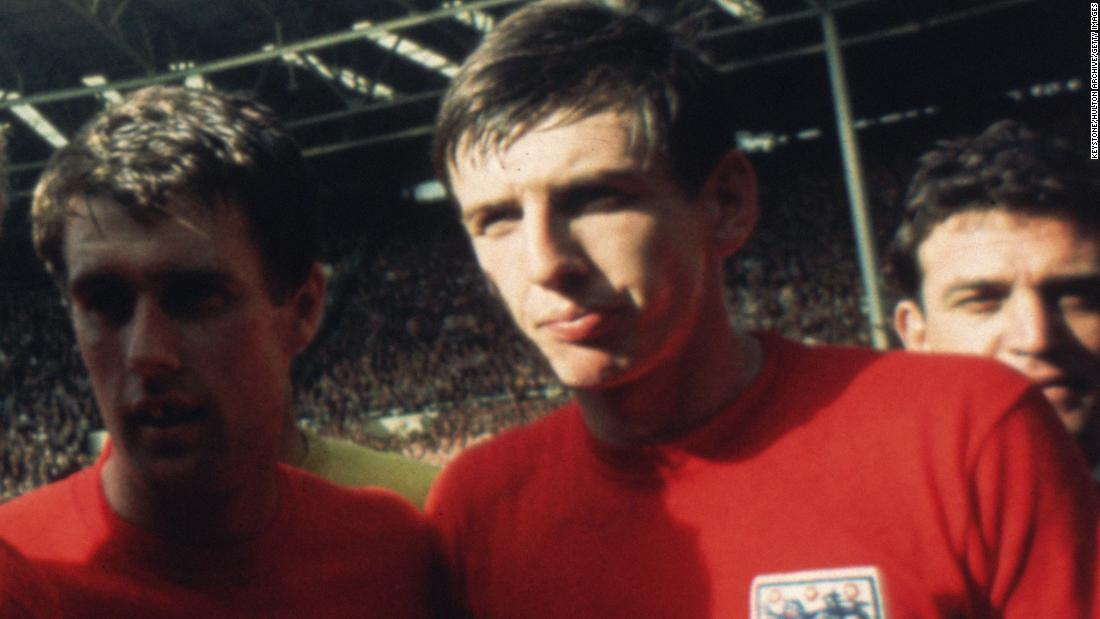 Martin Peters scored in England's famous 1966 World Cup final triumph over West Germany.
