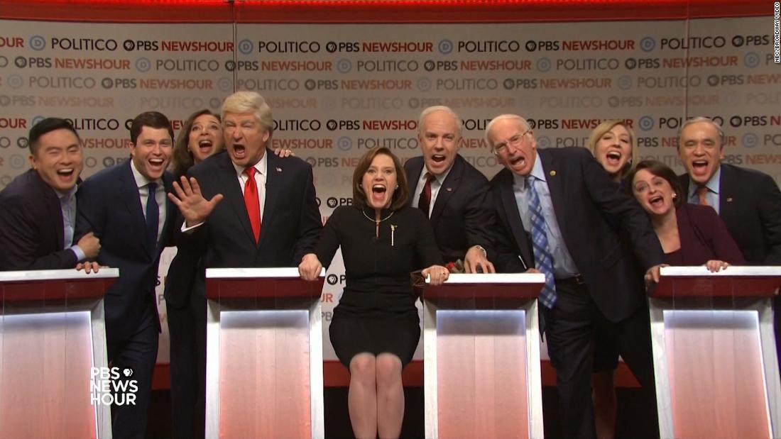 'SNL' takes on the Democratic debate