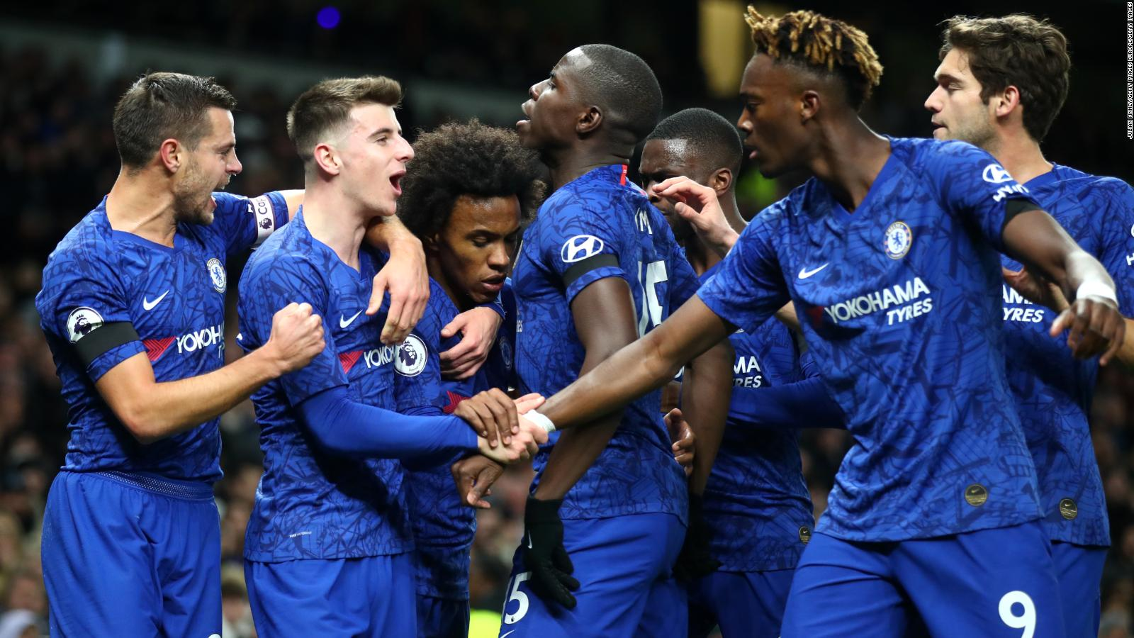 Premier League Chelsea Defeats Tottenham In Game Tarnished By Racist Abuse Claims Cnn