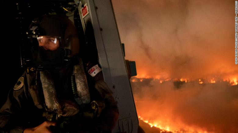 The Australian Defence Force has provided support in fighting the fires across New South Wales and Queensland.