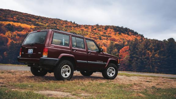 The orginal boxy Jeep Cherokee was one of the earliest SUVs to gain mass market popularity.