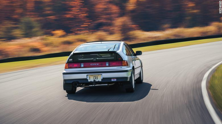 The Honda Civic CRX Si was a performance version of a car that was, otherwise, marketed for its fuel economy.