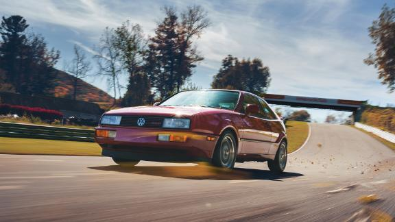 The Volkswagen Corrado was ahead of its time but too pricey for VW dealers to sell in large numbers.