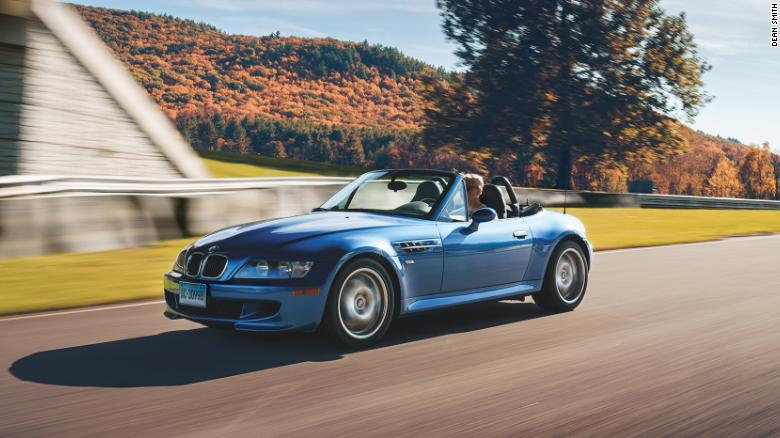 The BMW M Roadster is the much more affordable convertible sibling to the M Coupe.