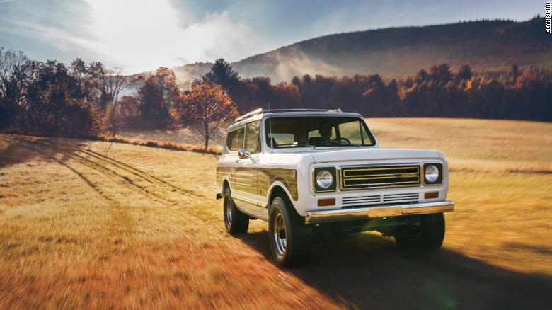 The Interenational Harvester Scout was Harvester's last passenger vehicle model.